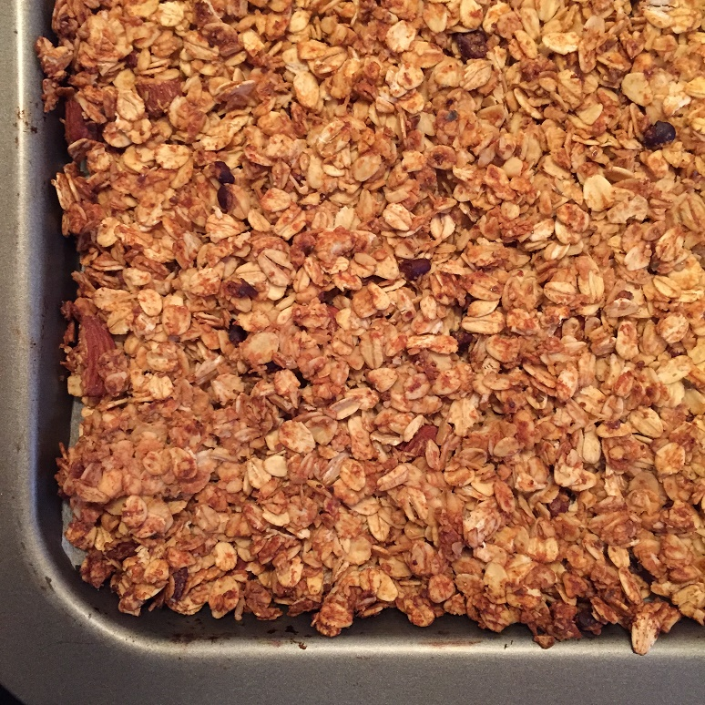 Peanut Butter and Chocolate Granola