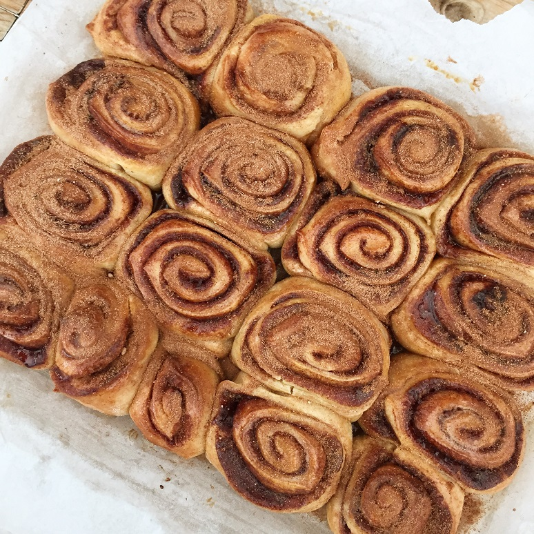 Cinnamon Buns - In the Kitchen - This and That Blog