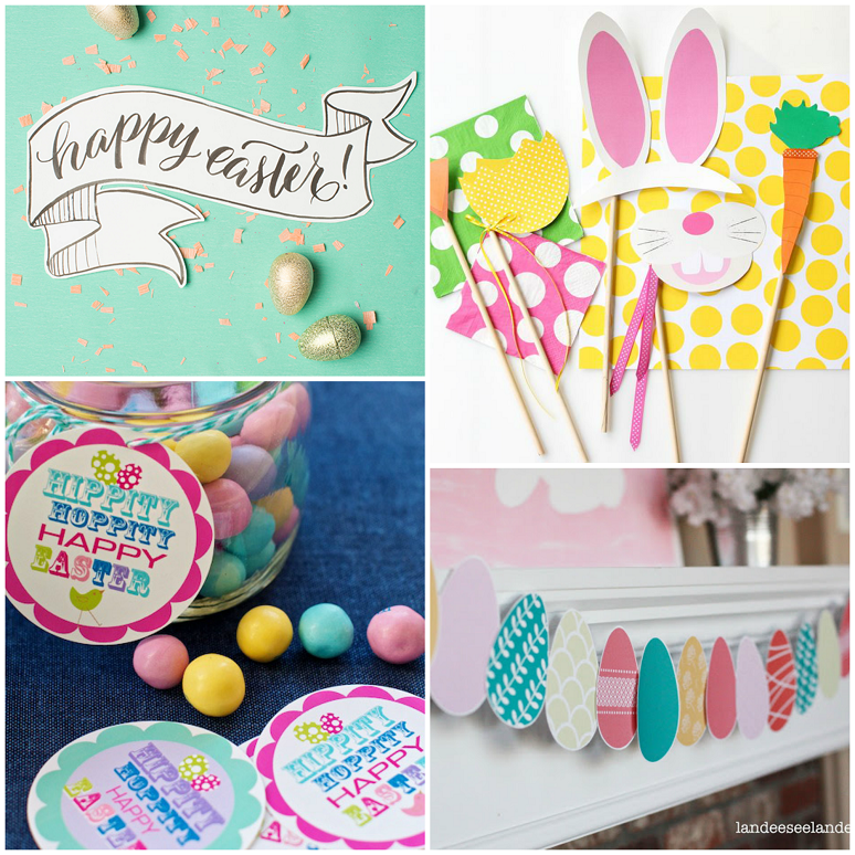 Easter Ideas - Getting Crafty - This and That Blog