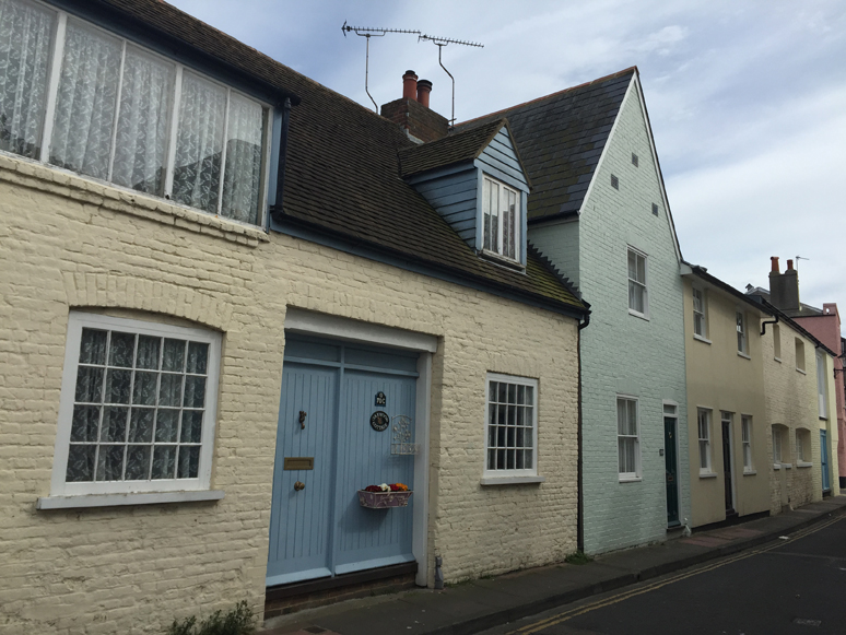 Cosy and Colourful Cottages in Deal - Out and About - This and That Blog