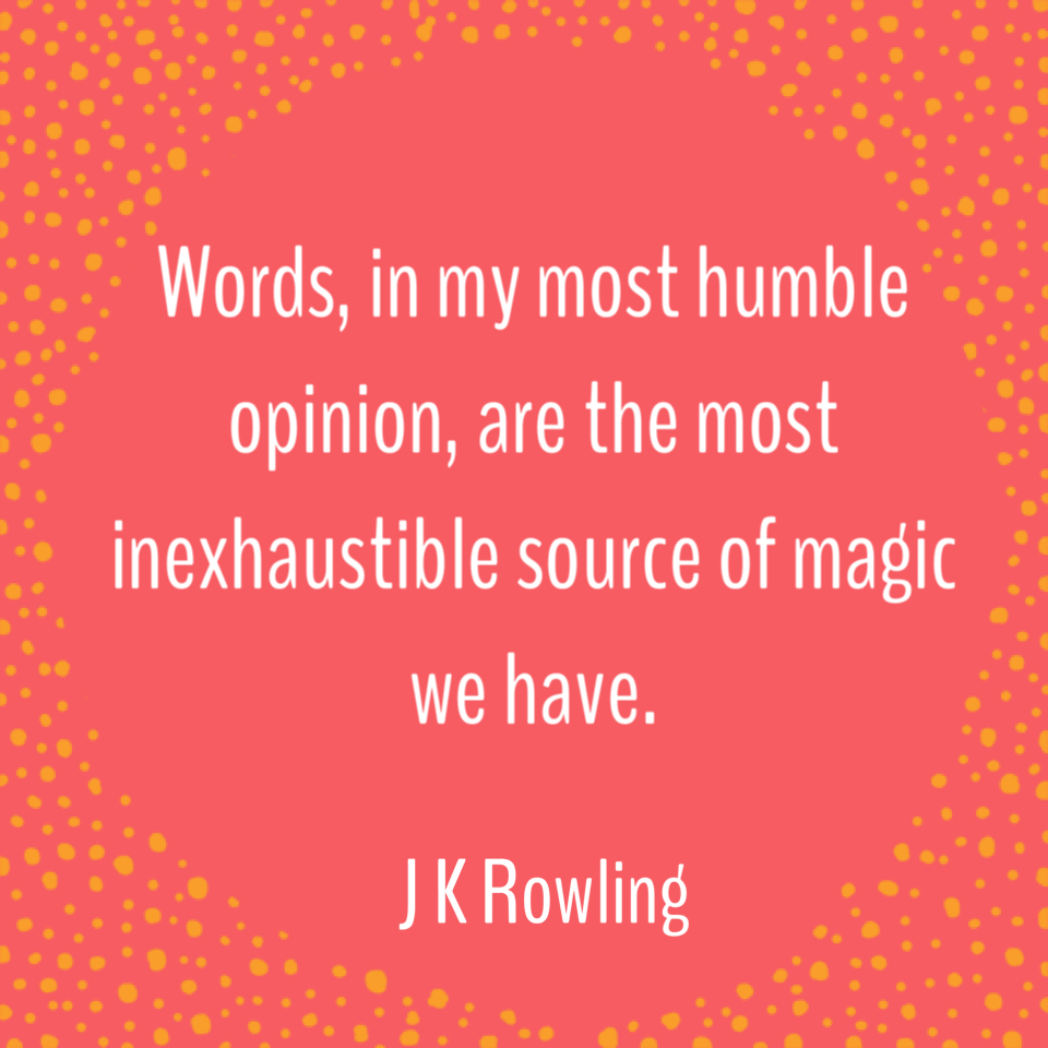 The Magic of Words - Thought of the Day - This and That Blog