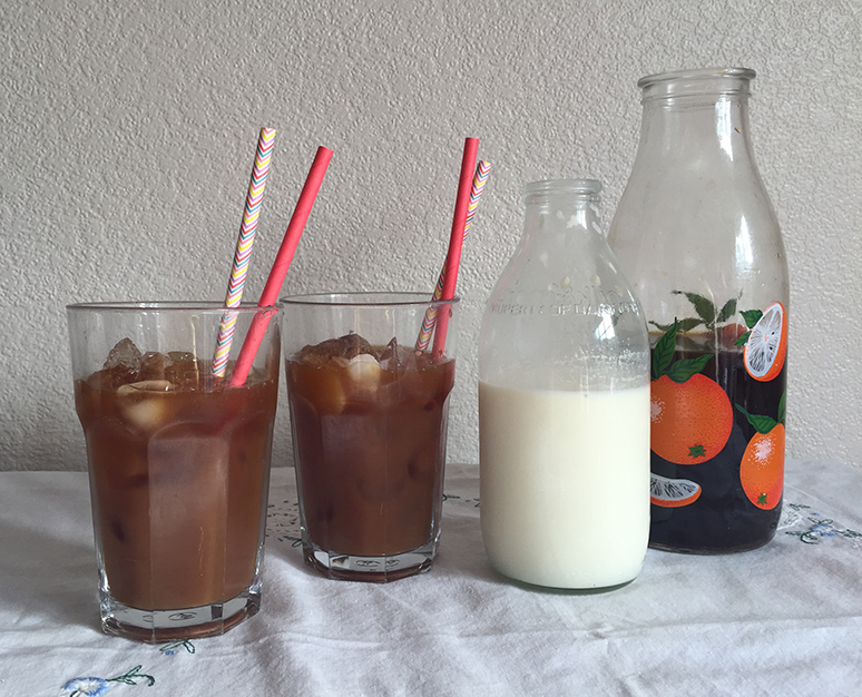 Homemade Iced Coffee - In the Kitchen - This and That Blog
