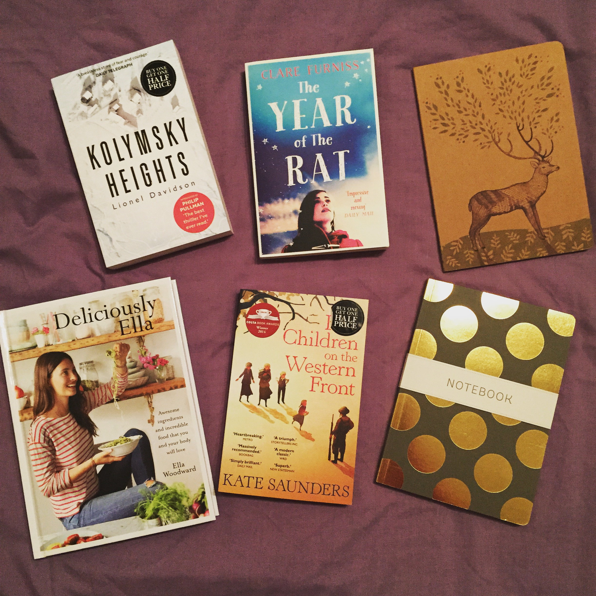 Recent Purchases - The Book Corner - This and That Blog