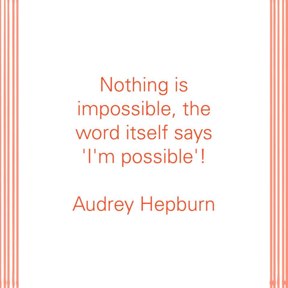 Impossible - Thought of the Day - This and That Blog