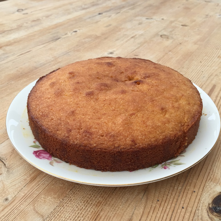 Orange Polenta Cake - In the Kitchen - This and That Blog