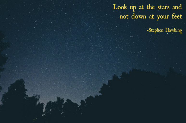 Look Up - Thought of the Day - This and That Blog