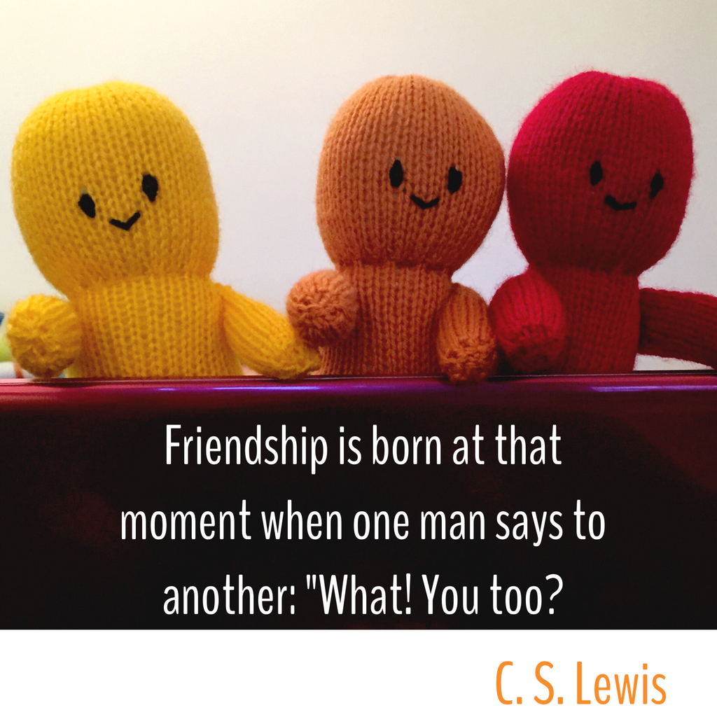 Friendship is born - Thought of the Day - This and That Blog