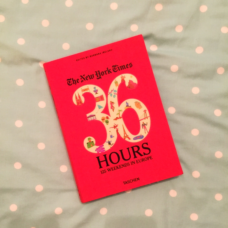 36 Hours in Europe - The Book Corner - This and That Blog