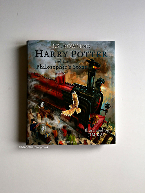 Illustrated Harry Potter - The Book Corner - This and That Blog