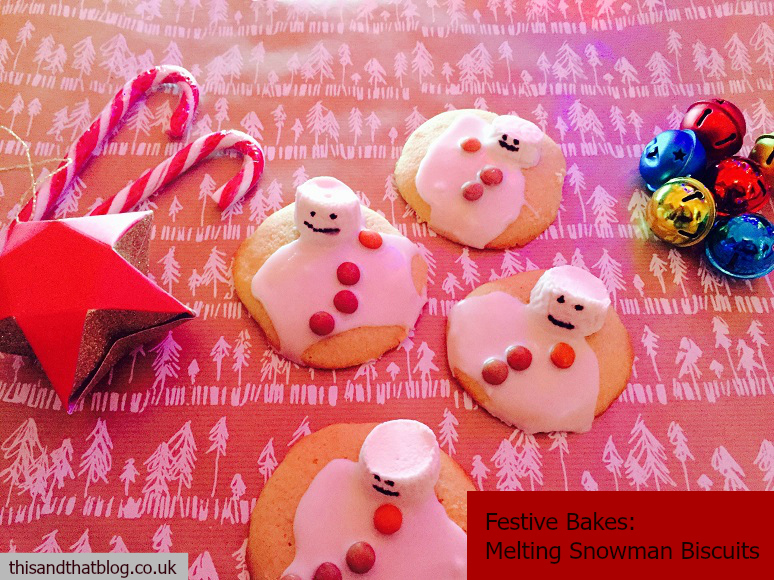 Melted Snowmen Biscuits Festive Bakes In The Kitchen This And
