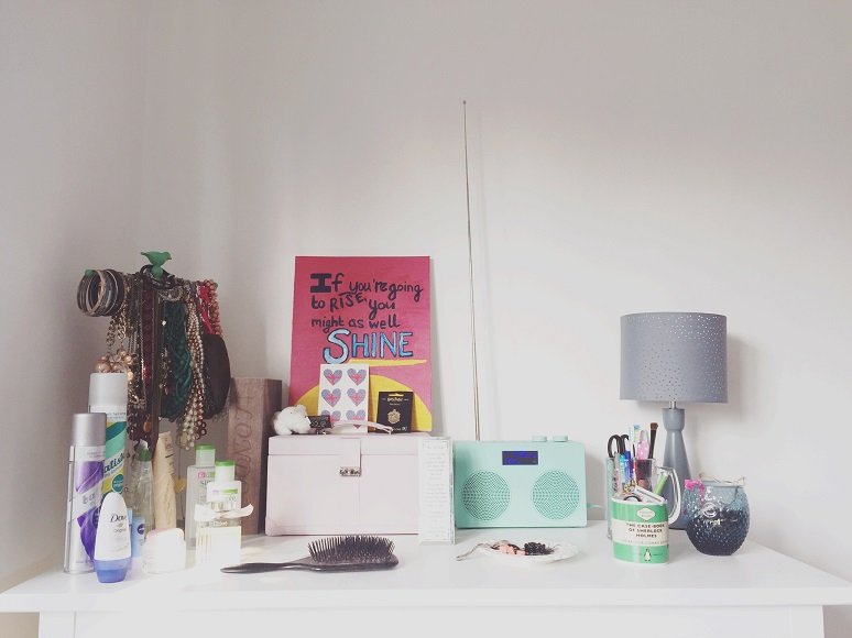 What's on my Dressing Table - Life Rambles - This and That Blog