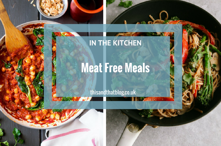 Meat Free Meals - This and That Blog