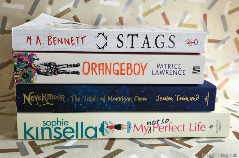 August Reading Update - The Book Corner - This and That Blog