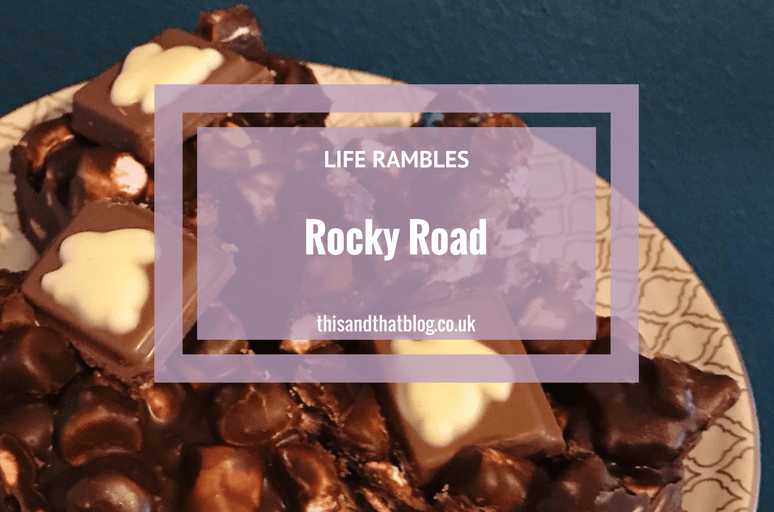 Rocky Road - In the Kitchen - This and That Blog