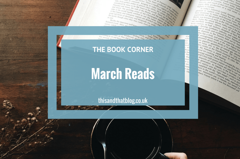 April Reads - The Book Corner - This and That Blog